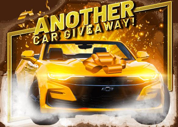 Win a Chevy Camaro Convertible!